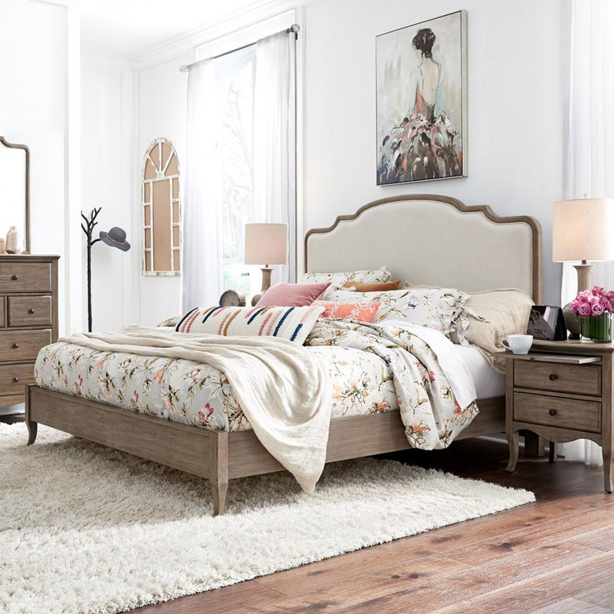 Picture of PROVENCE UPHOLSTERED BED