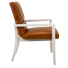 Picture of PALMERO CUSTOM LEATHER ARM CHAIR