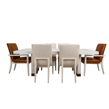 Picture of CARMEL 7PC RECTANGULAR DINING KIT