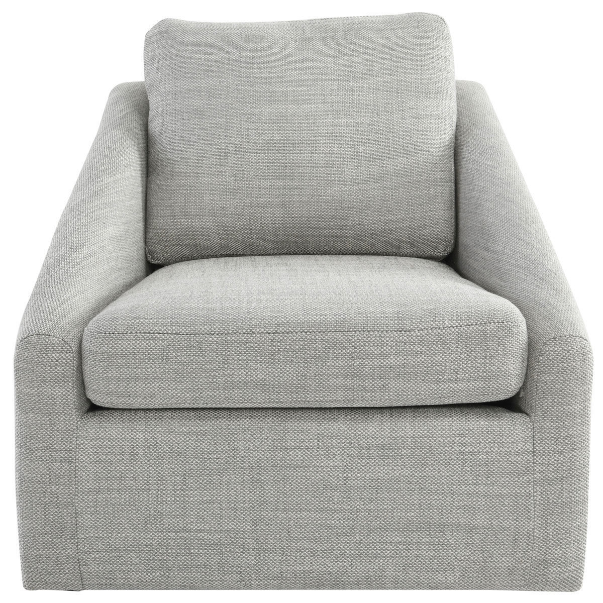 Picture of MONTICELLO SWIVEL ACCENT CHAIR GRAY