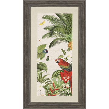 Picture of PARROT PARADISE VII TROP ART