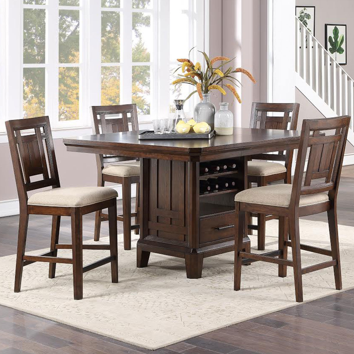 Picture of KENTWOOD 5PC TALL DINING SET