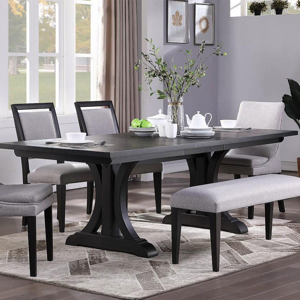Picture of YORKTOWN 6PC DINING W/ BENCH