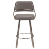 Picture of WISH COUNTER STOOL W/BRSTEEL