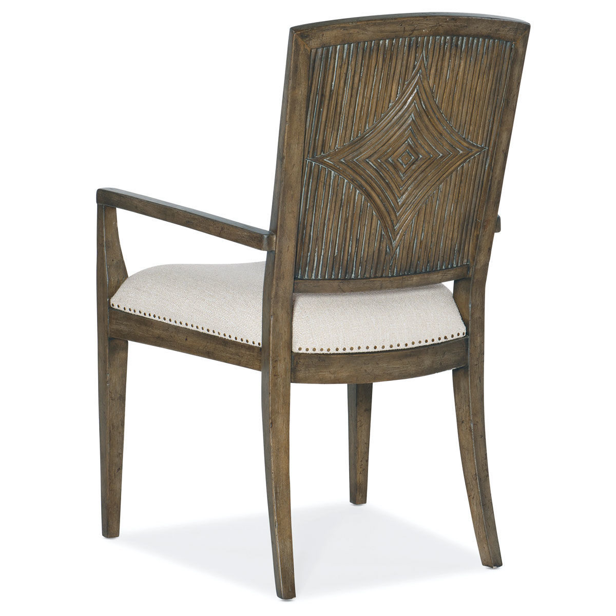 Picture of SUNDANCE CARVED BK ARM CHAIR