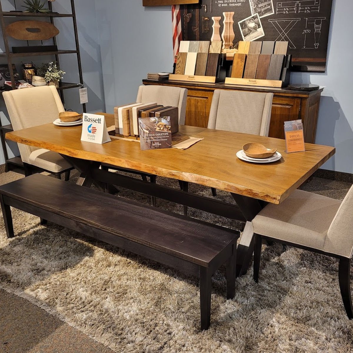 Picture of LIVE EDGE DIN W/SIDEBOARD ASIS