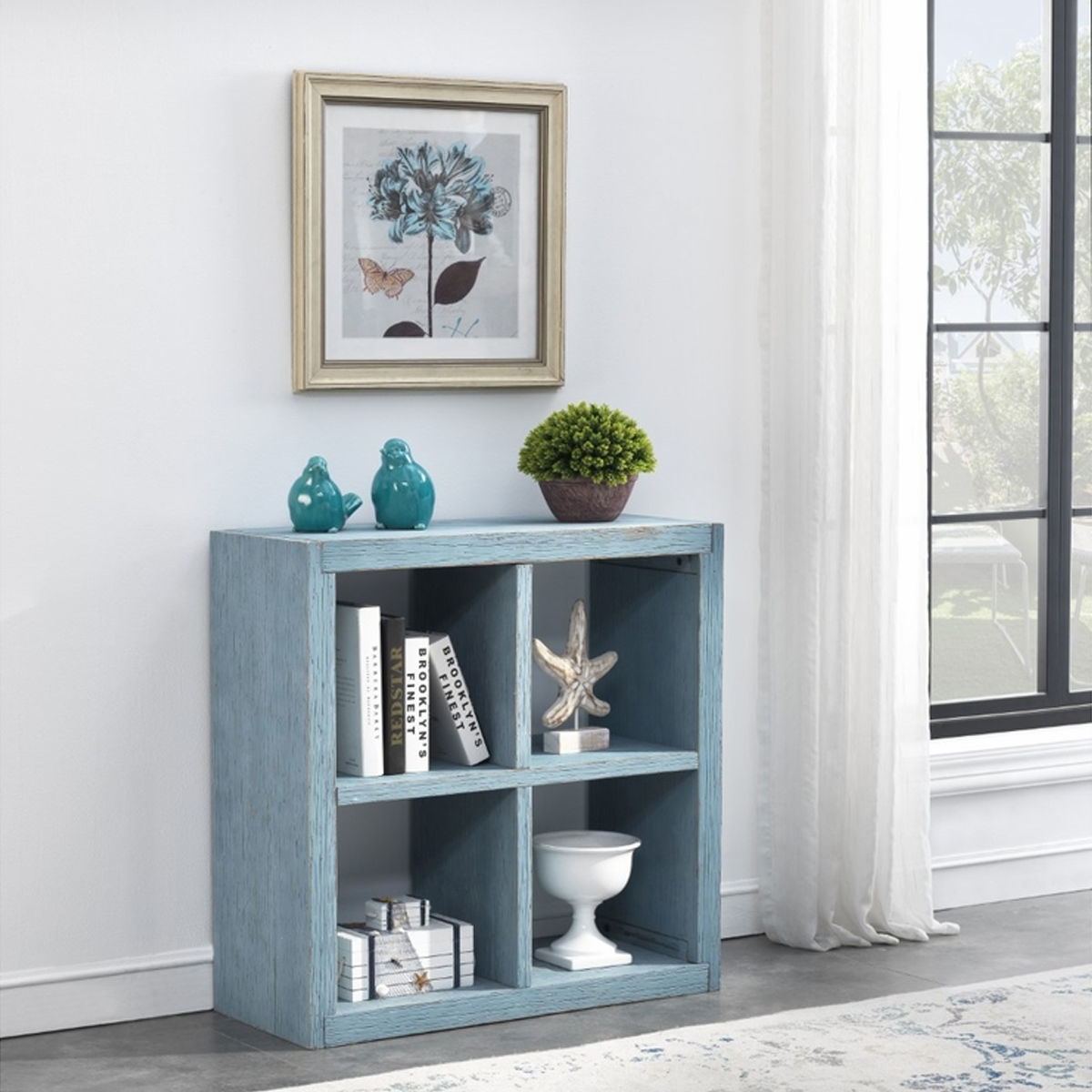 Picture of BLUE DISPLAY CUBE