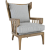 Picture of LAWRENCE ACCENT STRIPED CHAIR