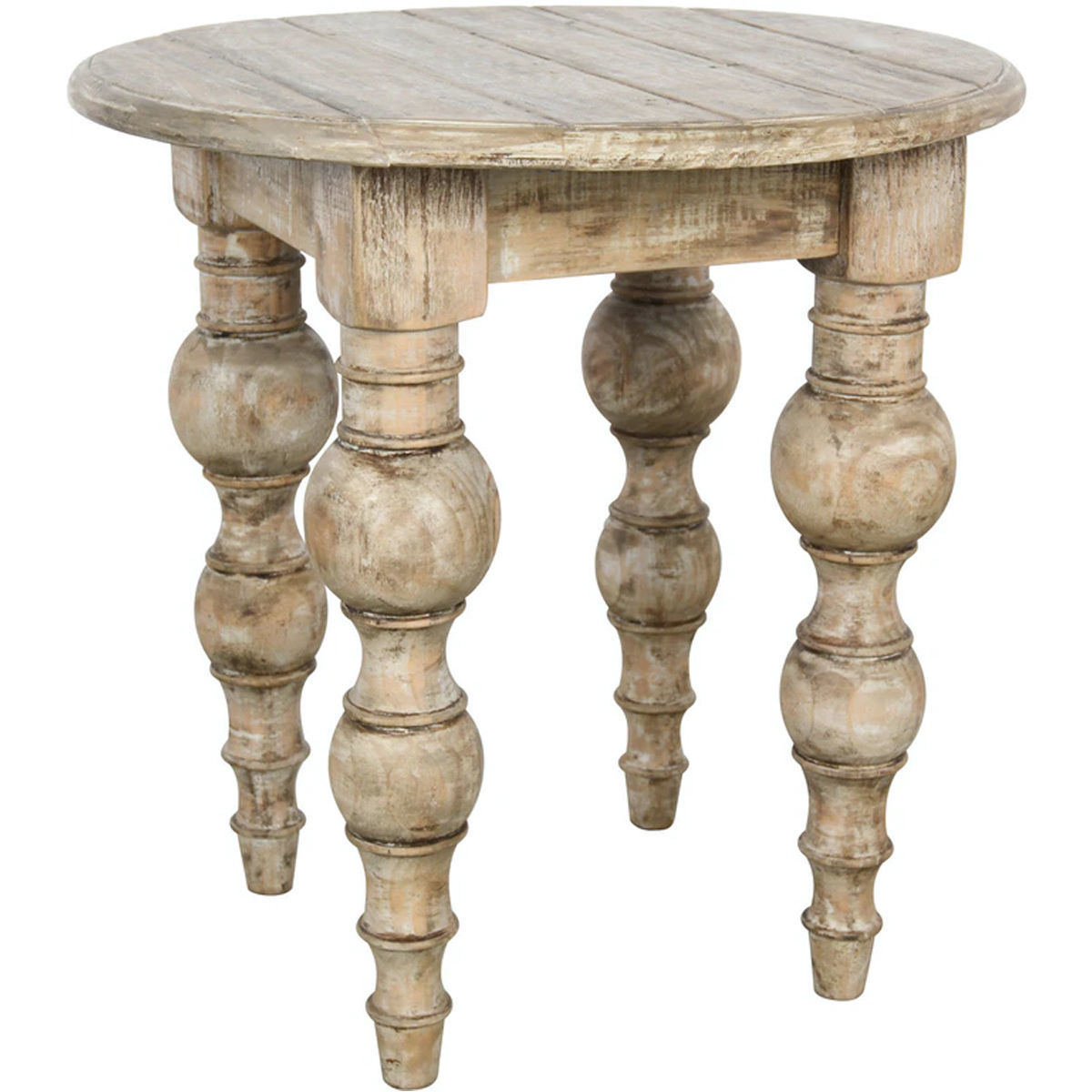 """Picture of BORDEAUX 24"""" ROUND END TABLE"""