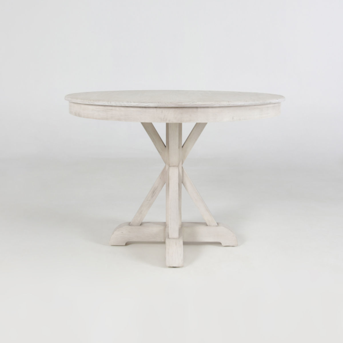 """Picture of MAXWELL 42"""" ROUND IVORY TABLE"""