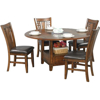 """Picture of 60"""" Zahara Round Table  with Granite Lazy Susan"""