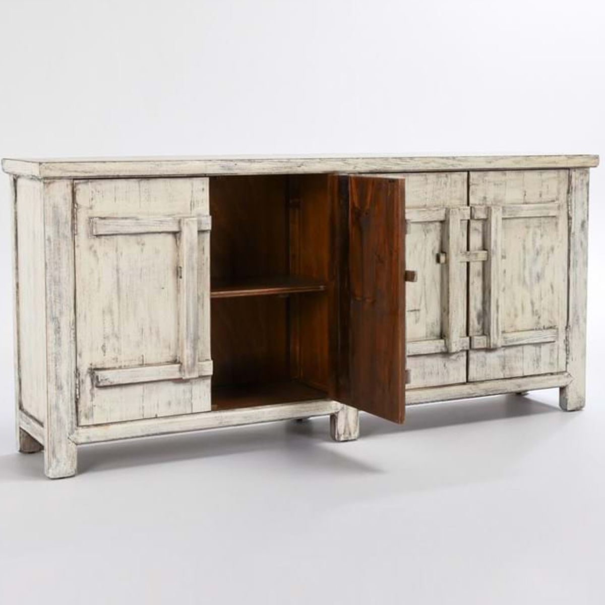 Picture of LAGOS WHITE 4 DR SIDEBOARD
