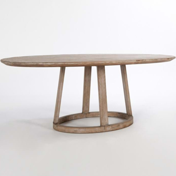 """Picture of OLIVIA 78"""" OVAL DINING TABLE"""