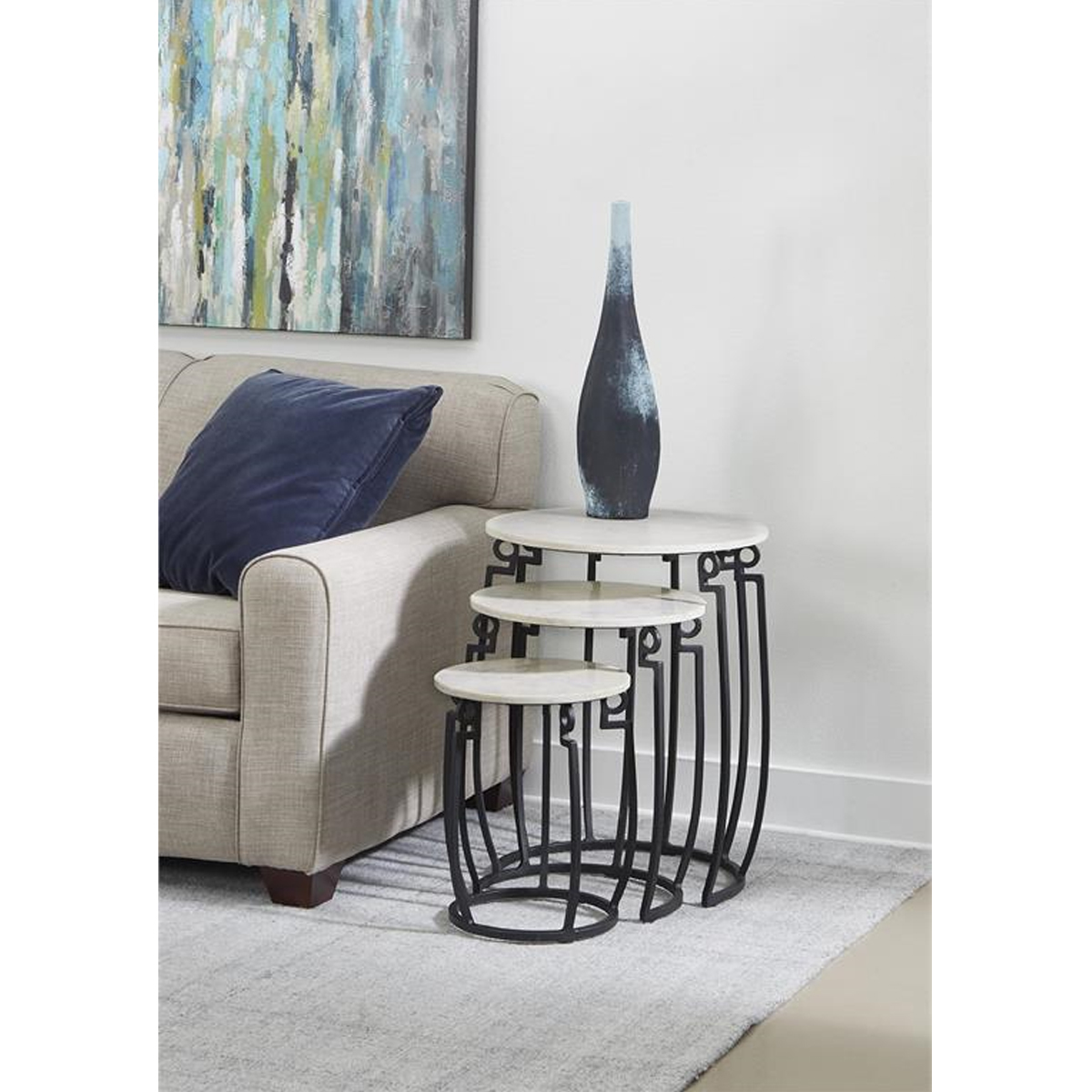 Picture of 3 TIER NESTING TABLES