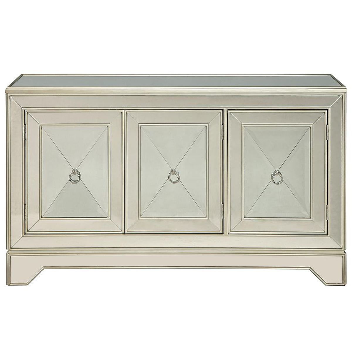 Picture of 3 DR MIRRORED CREDENZA