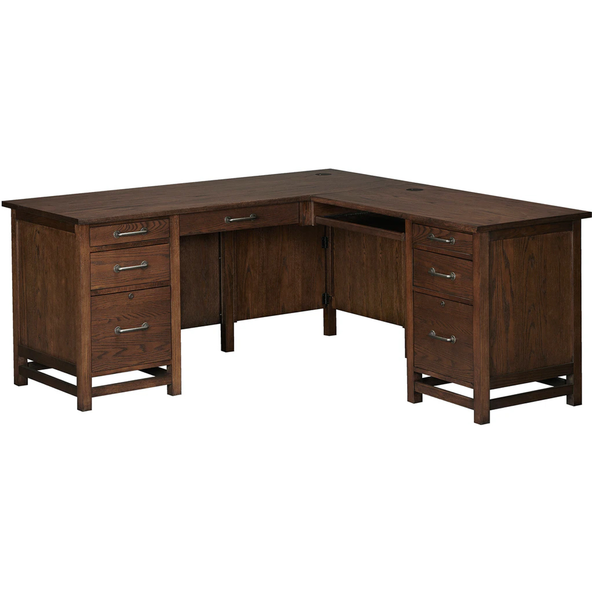 """Picture of KENTWOOD 68"""" DESK W/44"""" RETURN"""