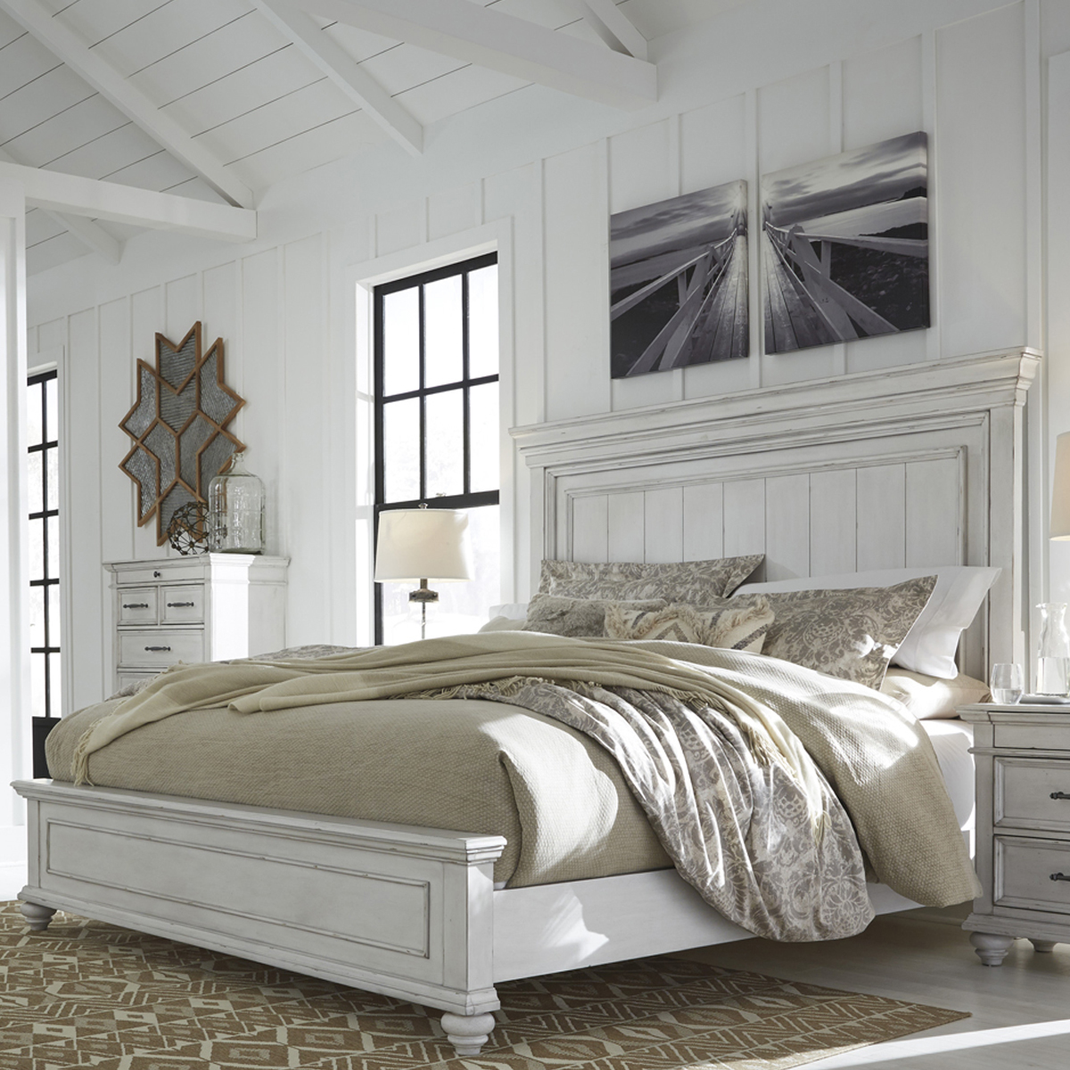 Picture of KARENA PANEL BED