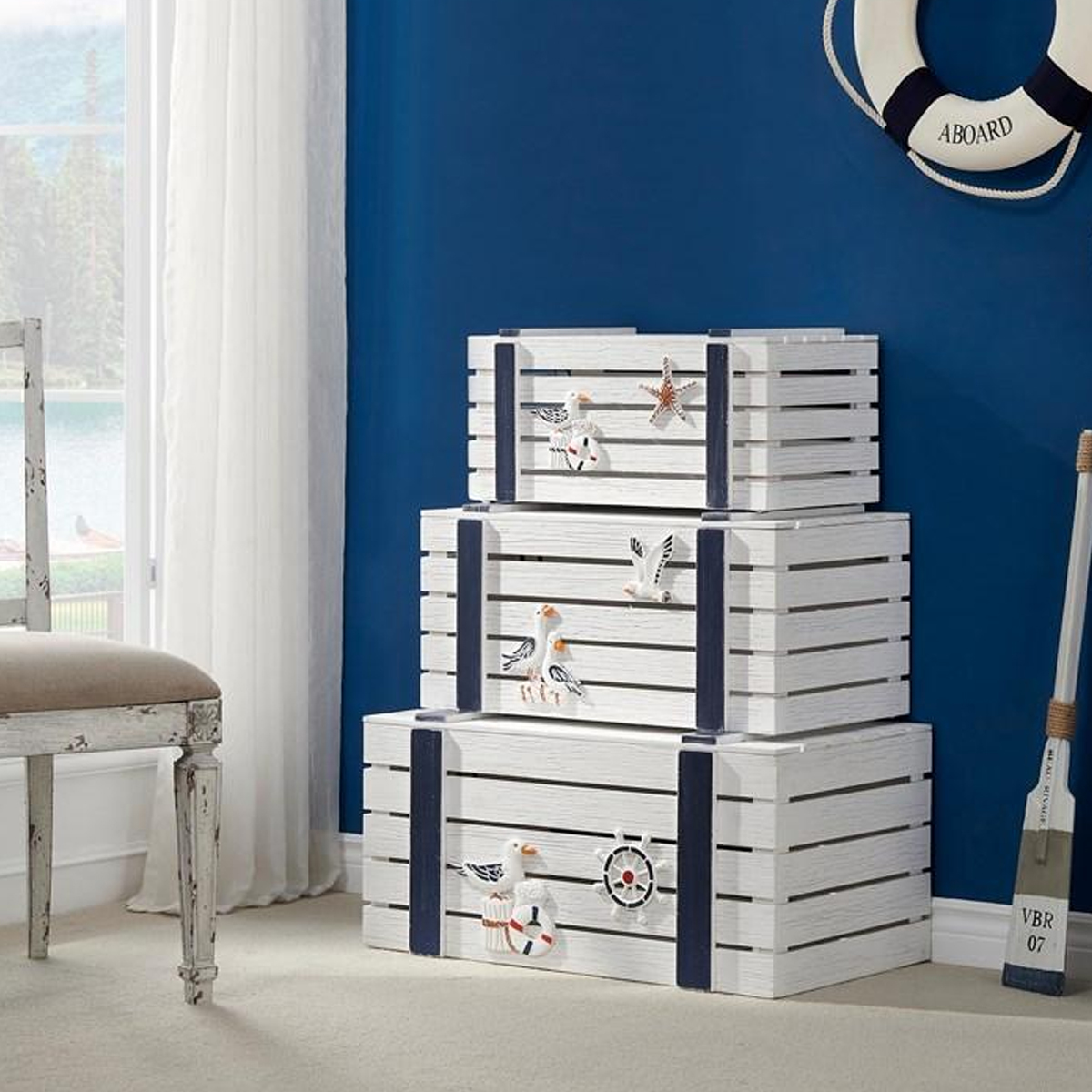 Picture of 3 PC NESTING TABLES