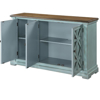Picture of BLUE 3 DR MEDIA CREDENZA