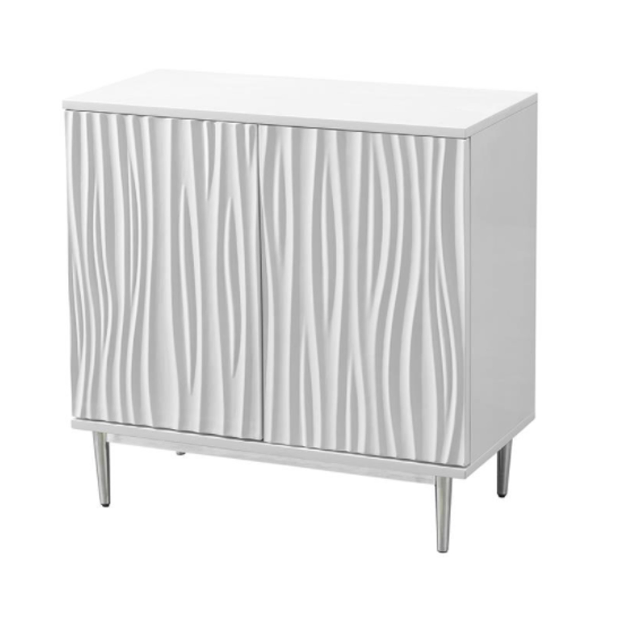 Picture of WHITE 2 DR CABINET
