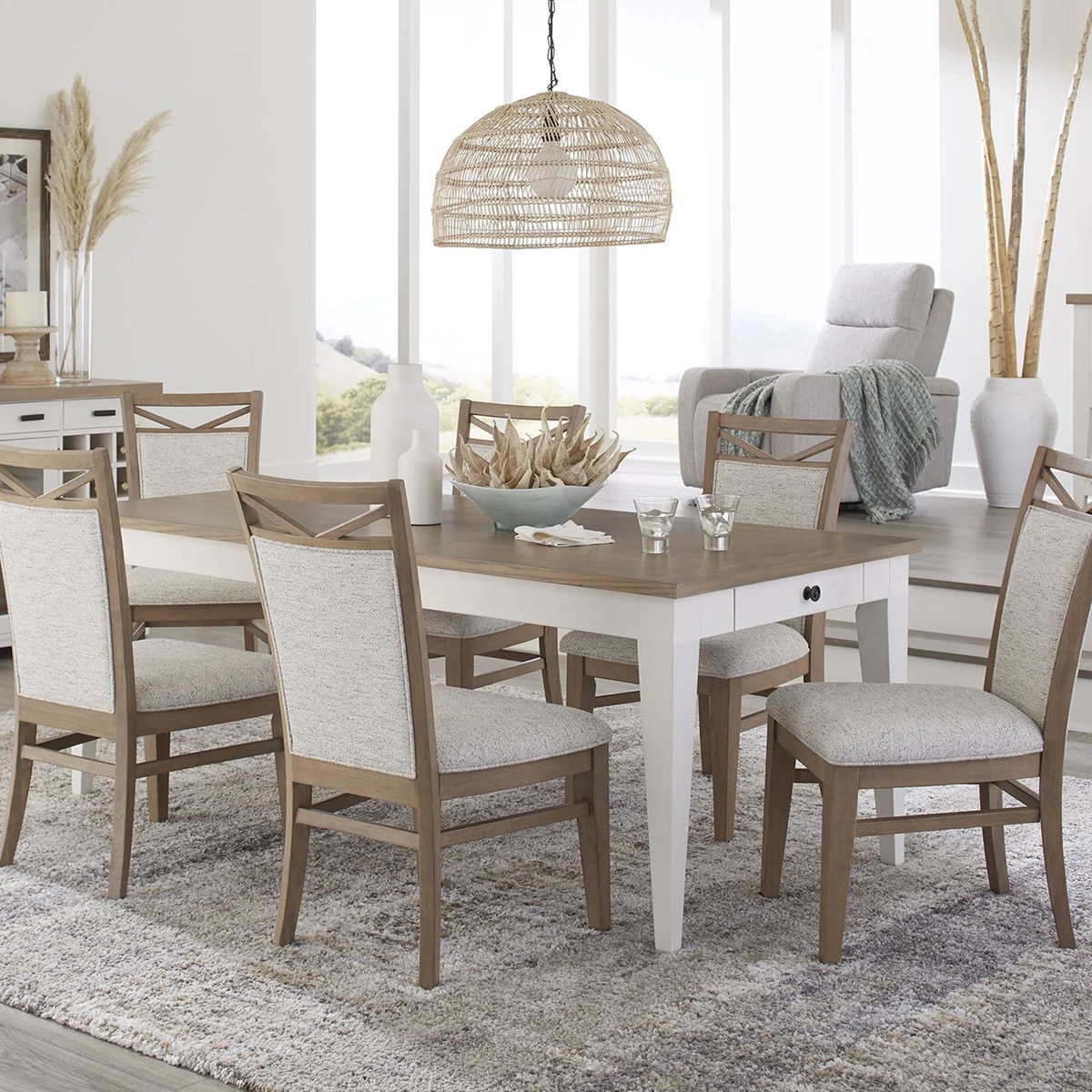 """Picture of AMERICANA 60"""" DINING TABLE"""