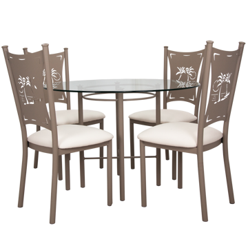 """Picture of ASTRO 42"""" DINING TABLE"""
