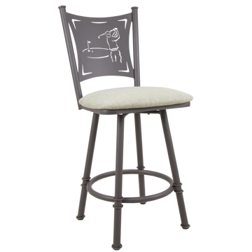 Picture of CREATION I CNTR STOOL W/BIRDIE