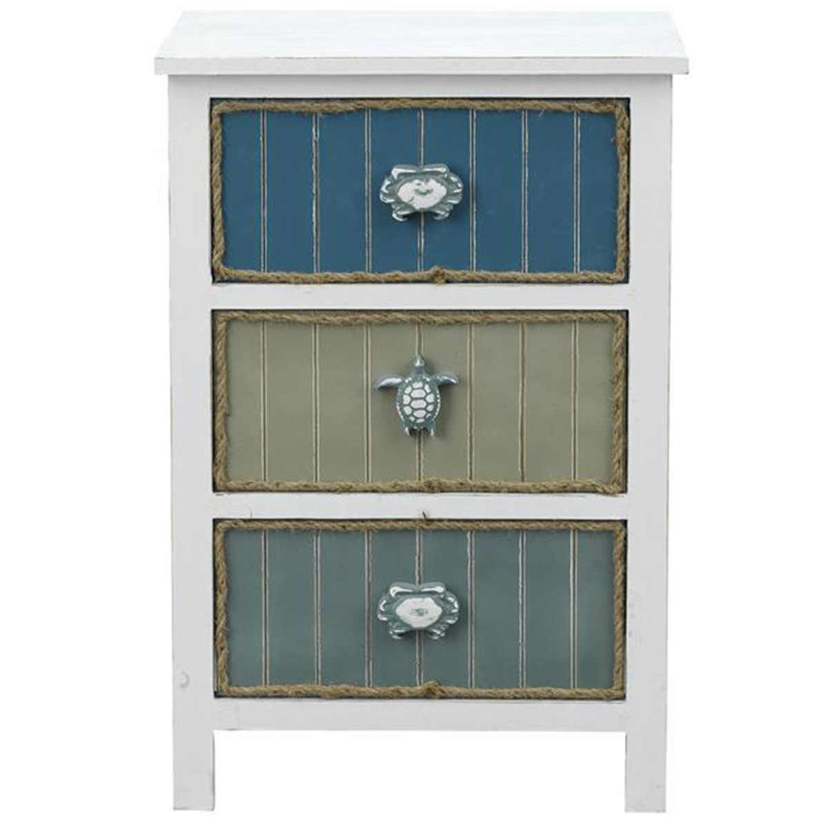 Picture of 3 DRAWER CHAIRSIDE CABINET