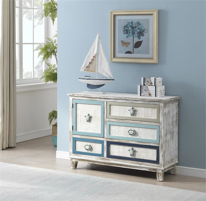 Picture of RUSTIC 4 DRW 1 DR CABINET