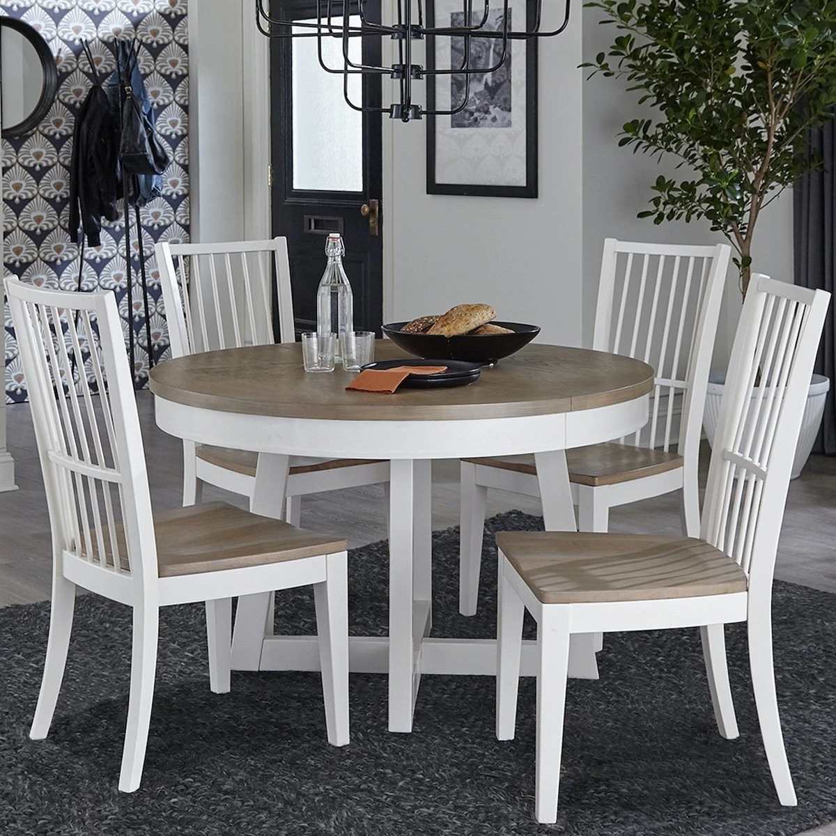 Picture of AMERICANA ROUND 5 PIECE DINING SET