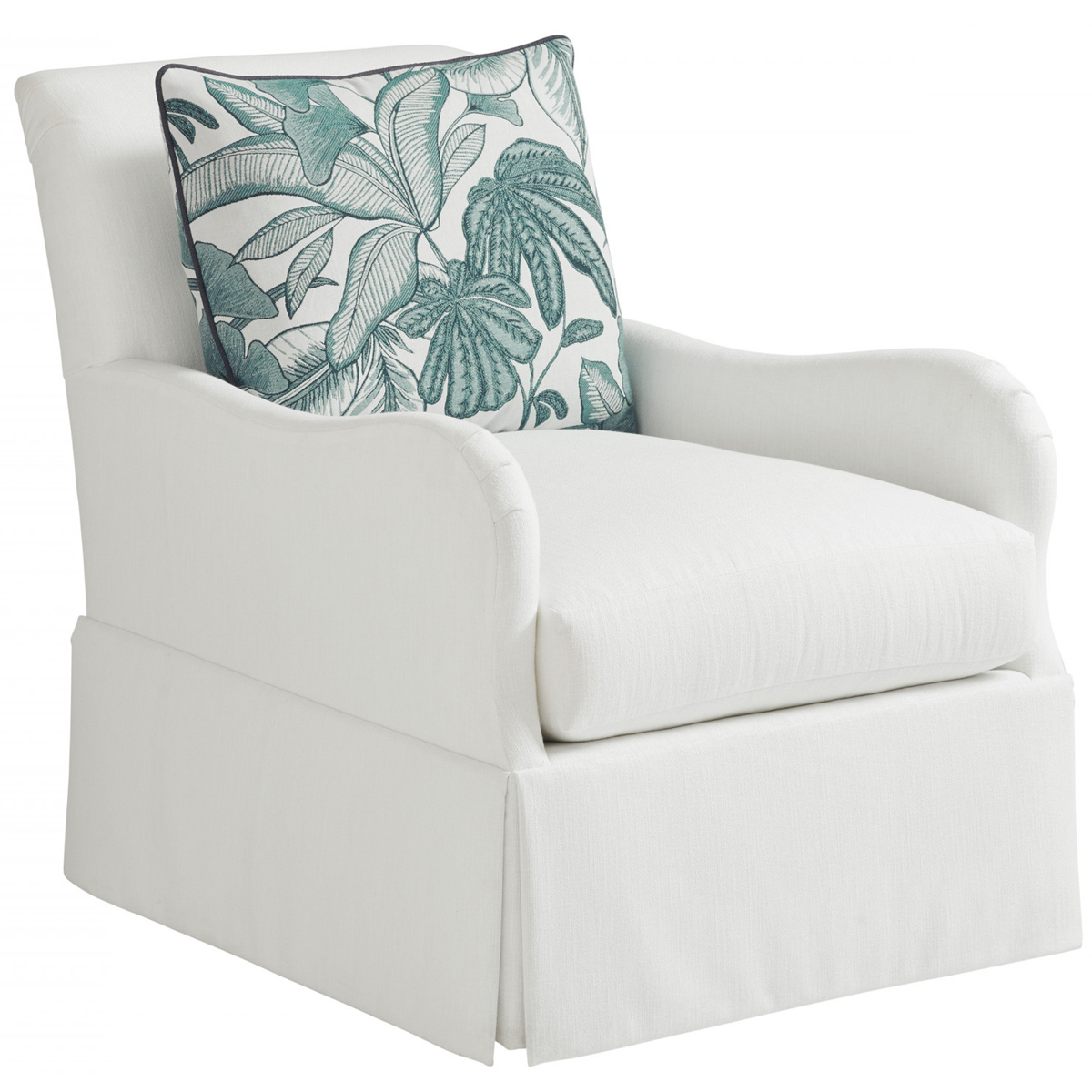 Picture of PALM FROND EASY WRITE SWIVEL CHAIR
