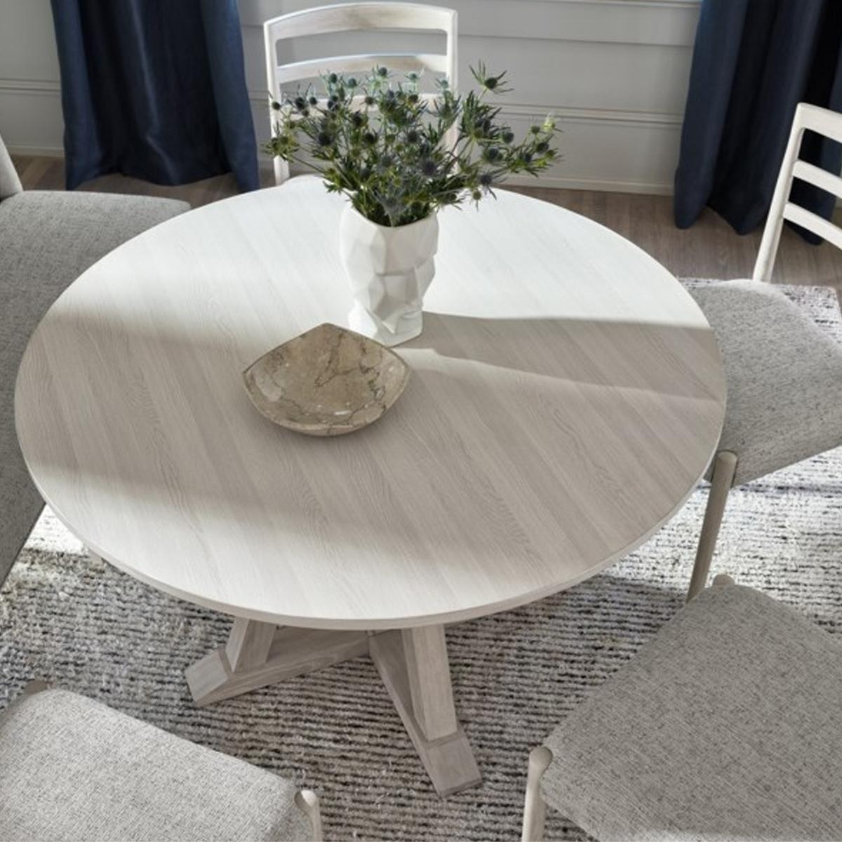Picture of MODERN FARMHOUSE ROUND DINING TABLE
