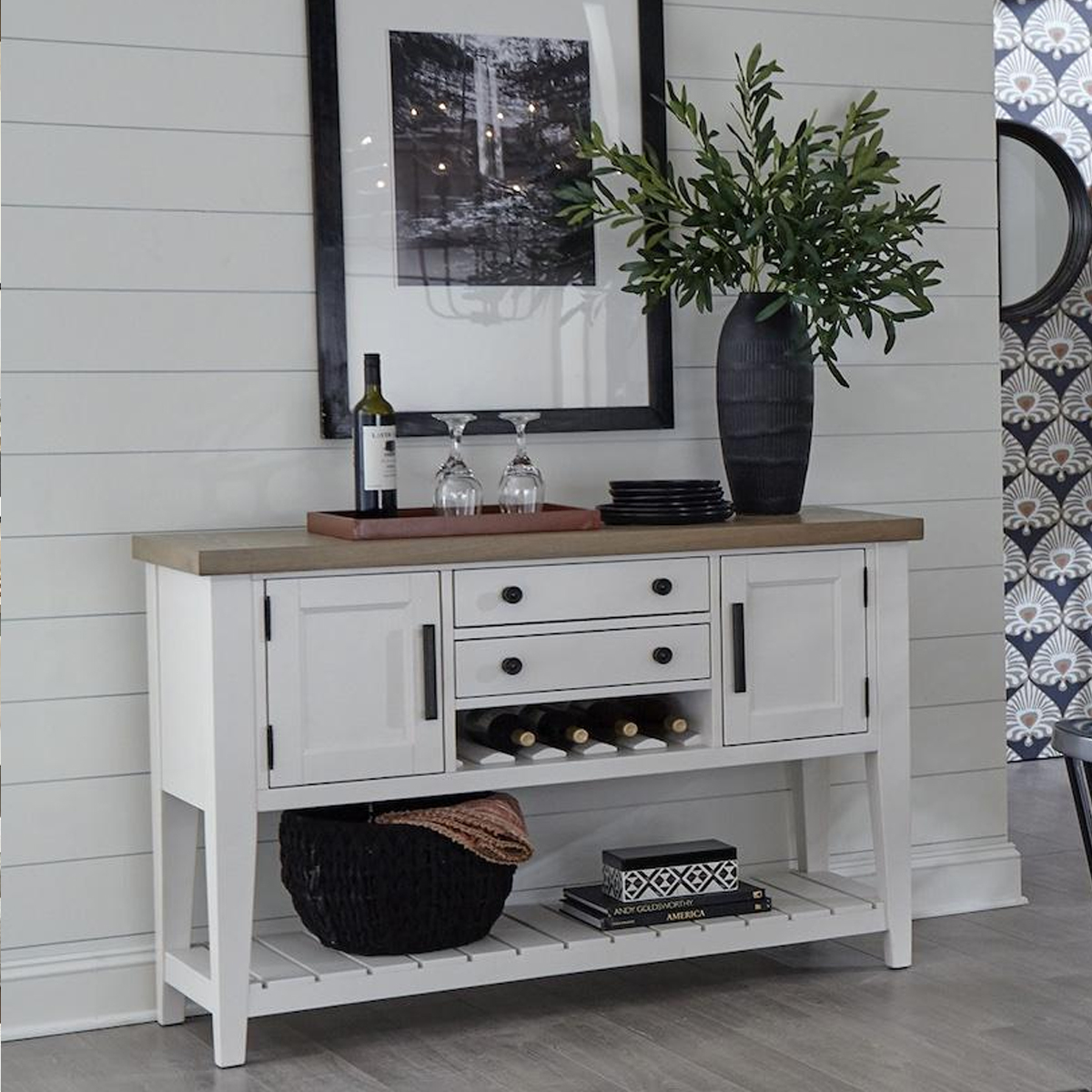 """Picture of AMERICANA 54"""" SIDEBOARD"""