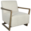 Picture of CONLEY ACCENT CHAIR PEARL WHITE
