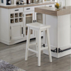 """Picture of AMERICANA 30"""" BACKLESS BAR STOOL"""
