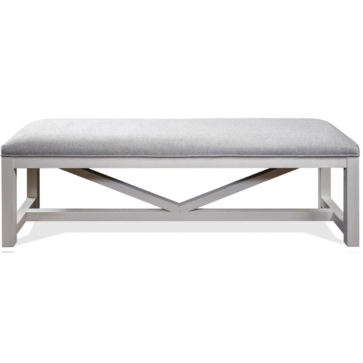 Picture of OSBORNE GRAY DINING BENCH