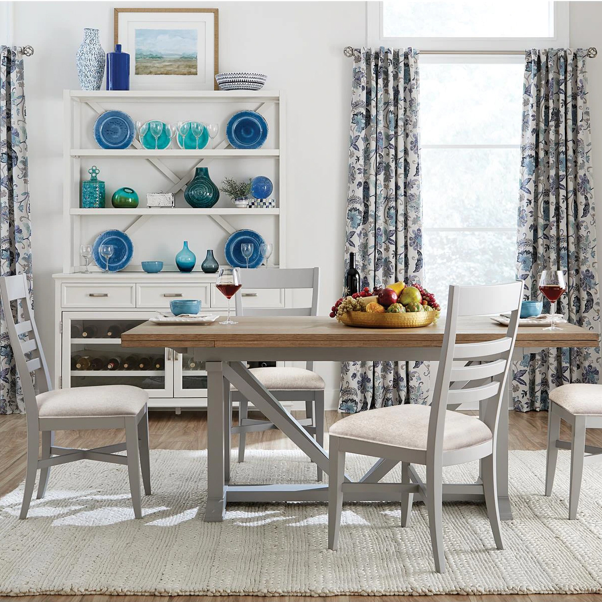Picture of OSBORNE 5 PIECE GRAY RECTANGLE DINING