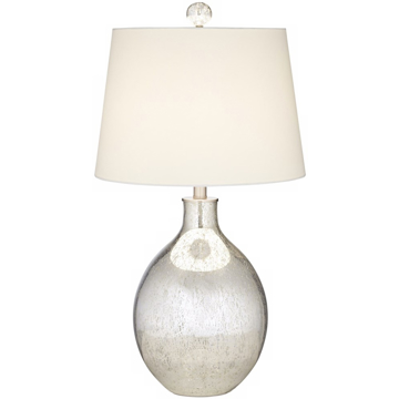 Picture of METALLIC DAWN SILVER TABLE LAMP