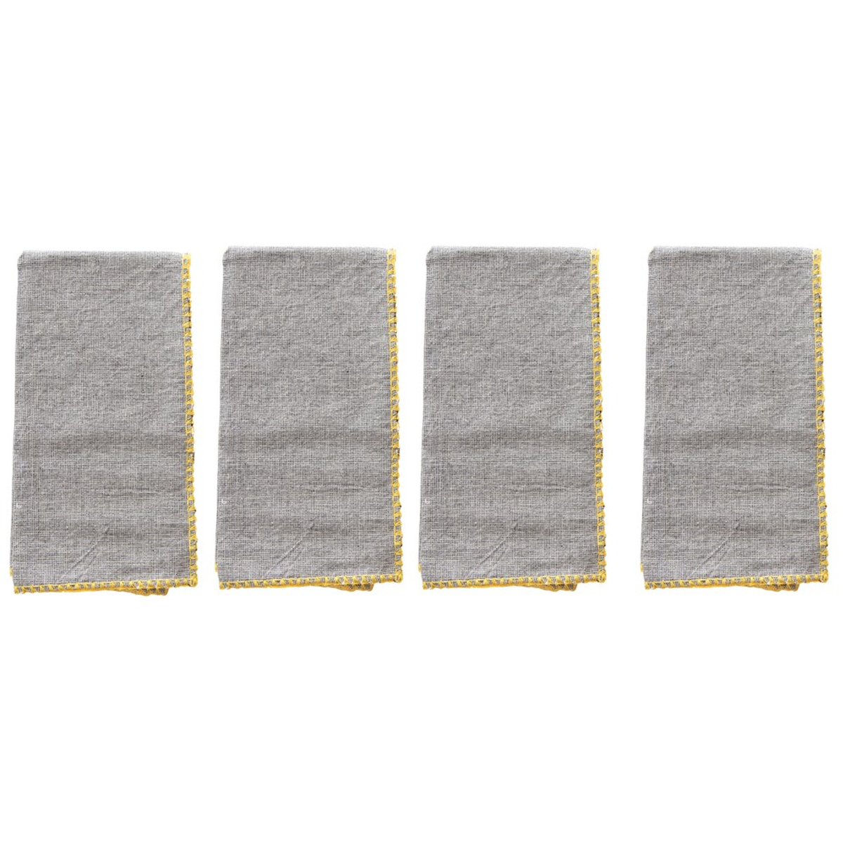 Picture of SQUARE COTTON NAPKINS (Set of 4)