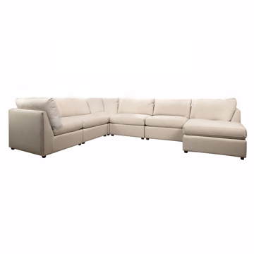 Picture of Beckham 6 Piece Sectional Sofa with Chaise