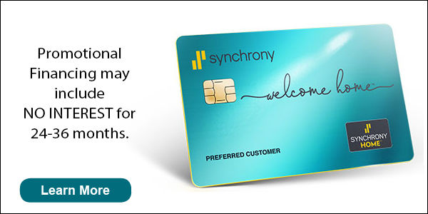 Special Financing through Synchrony Home